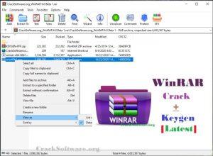 WinRAR 6.00 Crack With Keygen Free Download Letest Version