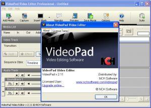 VideoPad Video Editor 10.16 Crack & Registration Code Letest Version