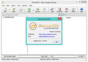 PowerISO 7. Crack & Serial Number Free Download Letest Version
