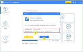 IMyFone D-Back 7.9.0.5 Crack  Registration Code Letest Version