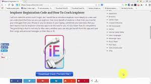 IExplorer 4.4.2 Crack & Registration Code 2021 Free Download Letest