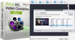 WinX HD Video Converter Deluxe 5.16.2.332 + Crack Latest Version