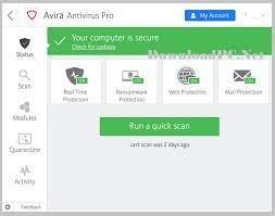 Avira Antivirus Pro 2021 Crack +Activation Code Letest Version