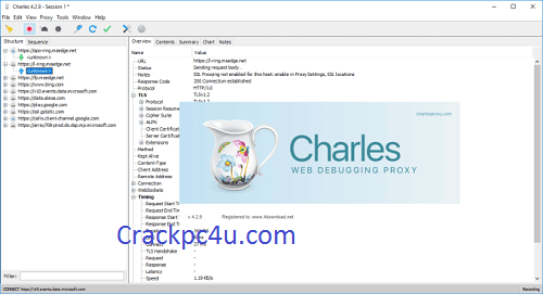 Charles Proxy 4.6.2.7 Crack With License Key Free Download 2021